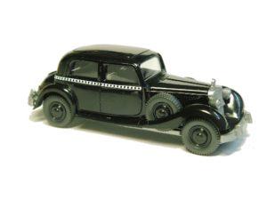 Taxi, Auftragspackung Mercedes-Benz 441 - schwarz