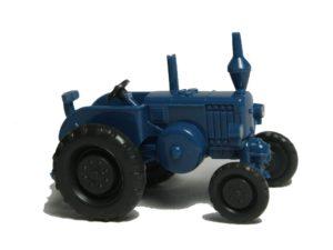 3080 azurblau, integriertes langes Ansaugrohr, Scheinwerfer gesilbert, ohne Fahrer