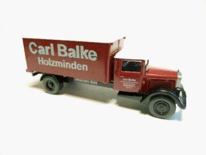 Carl Balke Holzminden - Packung: Ein Jahrhundert auf Achse